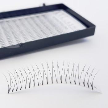 Cils en V – 2D – 320 pièces sans nœuds, doux et légers