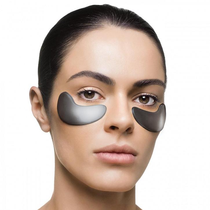 Patchs de charbon actif en hyhdrogel pour les yeux, 5x2 patchs