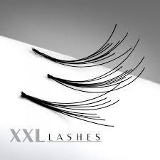 200 des Cils Flare Lashes avec nœud, dans en recharge à un prix abordable, long 6-15 mm