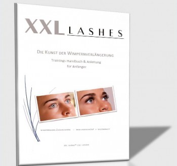 Manuel de formation XXL Lashes « Technique de volume à la russe », Formation à la technique xD Allemand