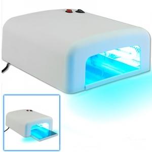 Lampe UV Ongles, Appareil de soin, 36 W, incl. 4 tubes jumeaux et un minuteur