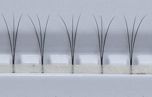 W-Lashes - 300 pcs | 0,15 mm d'épaisseur | longueur de 8 mm | C-Curl