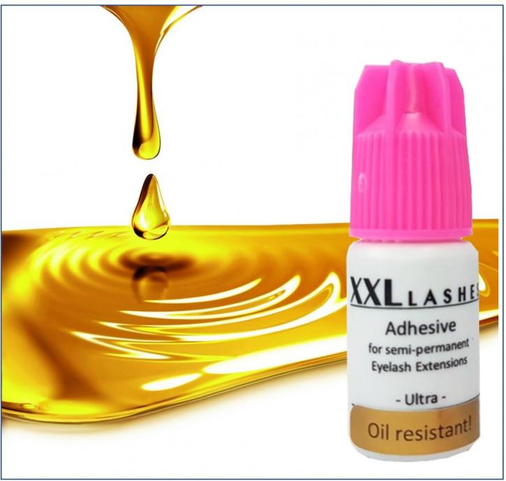 """Adhésif pour cils XXL Lashes xD """"Ultra"""", résistant à l'huile, haute durabilité, séchage rapide, imperméable, 5 ml"""