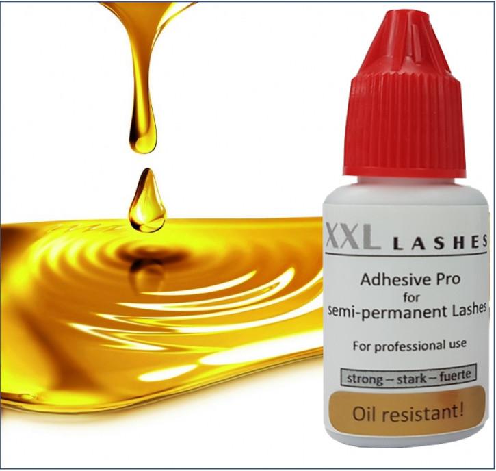 """Colle à Cils XXL Lashes """"Pro"""" – résistante à l'huile, imperméable, végétalien"""