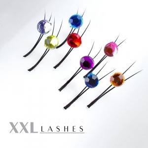 Cils Y-Lashes décorés de cristaux de strass