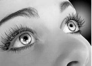 Poster-sized photo - Des yeux qui ne passent pas inaperçus