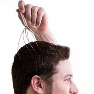 Masseur de tête, tige de massage de tête