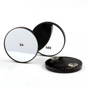 Superbe miroir de maquillage à ventouses offrant un grossissementx3ou 5 ou 10