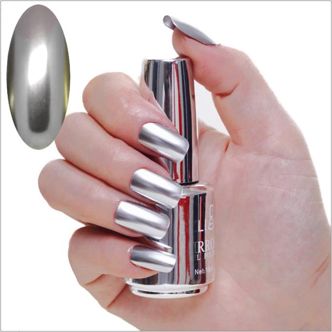 Vernis à ongles miroir, vernis à ongles métallique
