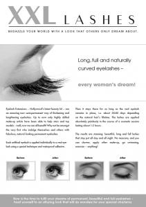 Brochures promotionnelles, 100 pcs A5 -«œil»