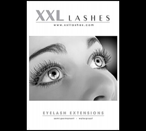 1 Affiche XXL Lashes, A3 + A2 light