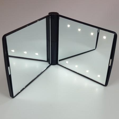 miroir de poche avec clairage led int gr de grande qualit. Black Bedroom Furniture Sets. Home Design Ideas