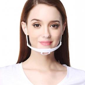 Visière en plastique, écran facial avec bande élastique réglable