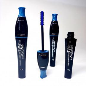 Mascara bleu, imperméable à l'eau, mascara pour donner du volume et une couleur intense